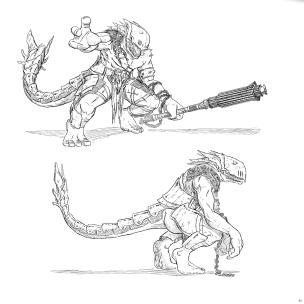 Oriental Creature Concept 4