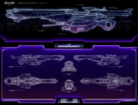 """""""EVE-Online"""" Contest Ship Design"""