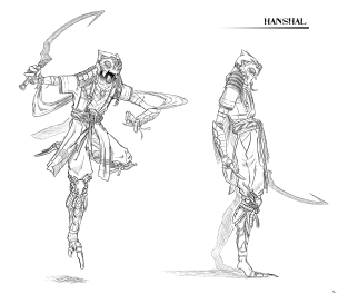Oriental Creature Concept 3