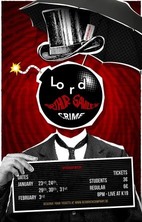 """Lord Arthur Savile´s Crime"" Poster Design"
